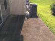 Newnan, Ga patio deck that will need concrete black bacteria & mildew removal.