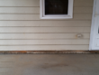 House pressure washing to remove mildew & dirt from a home in Fayetteville, Ga
