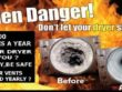 Dryer Vent cleaning should be done annually