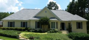 Fayetteville Roof Cleaning-After w/o black streaks