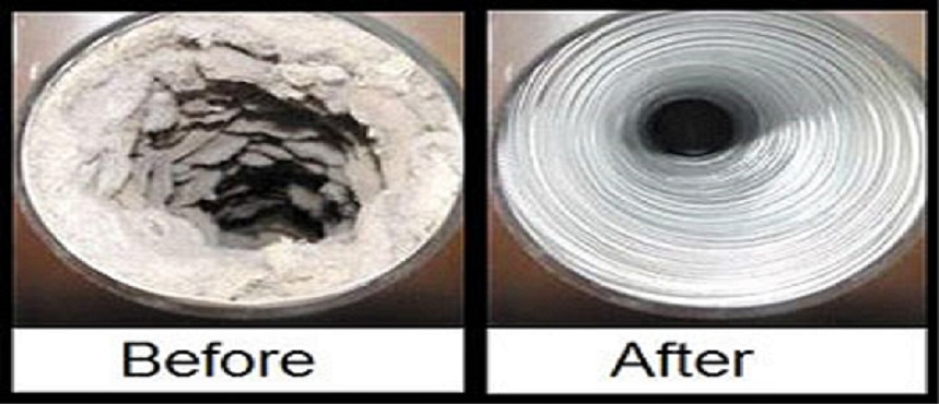 A dryer vent cleaning should be performed once a year to prevent dryer vent fires