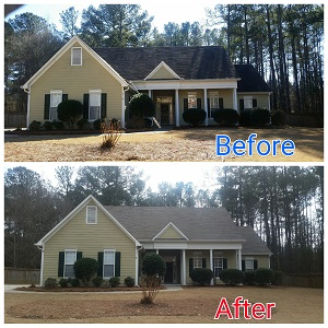 Pressure Washing Services in Fayetteville, Ga
