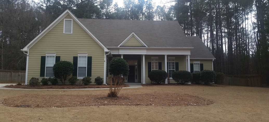 Low pressure roof cleaning and pressure washing services in Peachtree City.
