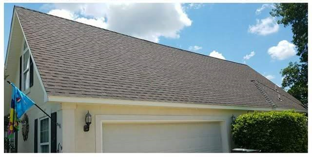 Peachtree City roof cleaning & pressure washing services. Driveway way cleaning, black stain removal, roof algae, and low pressure house wash available